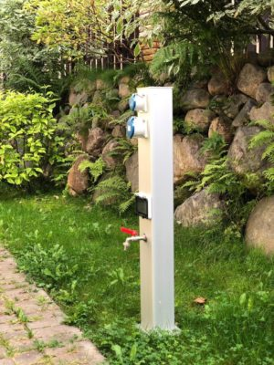 садовый столб mira systems