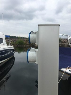 портовый столб mira systems