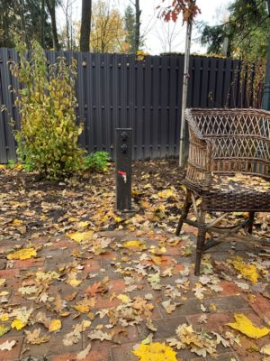 Садовый сервисный столб